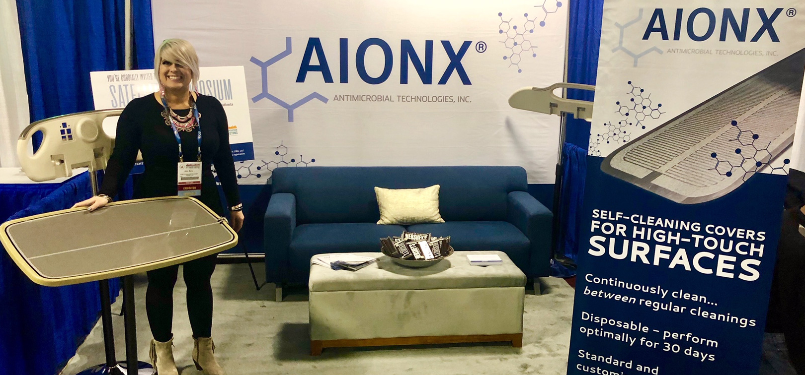 AIONX® Satellite Symposium At The American Burn Association's 50th Annual Meeting, April 10-13, 2018